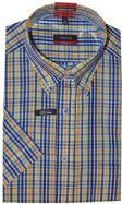 Eterna Short Sleeves Shirt - 4651/14 C194 - Yellow